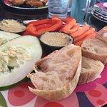 Lemon & Herb Hummus Platter