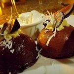 Special chocolate dessert