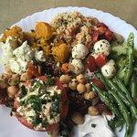 Ótima escolha, opções e variedades vegetarianas incríveis.