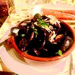 Mussels! Roasted Carrots!