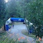 la entrada camping