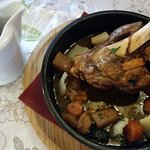 la souris d'agneau aux légumes anciens