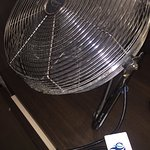 this was the dirty fan they brought up when the AC wasn't working, yes I am serious !