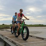 Port Aransas has a lot of bike trails and is the perfect setting for taking a ride near the wate