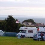 Great Camping just a short walk from the beach!