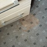 gross stain on carpet