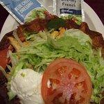 My tasty Chicken fajitas salad