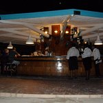 One of the 4 outdoor bars