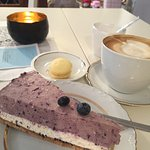 Blueberry-Cheesecake - unglaublich lecker
