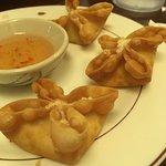Crab rangoon--so good!
