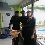 Two good cooks who made great omlettes....