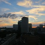 Gorgeous sunset from room 737