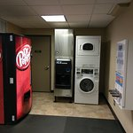 Ice machine, soda machine and washer/dryer