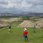Great golf course was excellent with great views of the Big Bend country