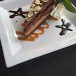 Dessert (almond torte)