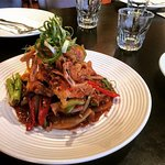 """Boo Nim Rim Ta Lay"" Crispy Soft Shell Crab with Spicy chilli jam sauce"