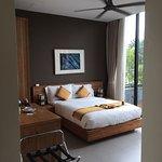Estas foto es desde la habitación 104. Con salida DIRECTA a la piscina! 😉