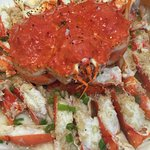 Steamed Kind Crab