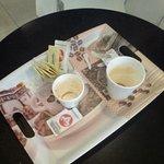 La Cigale de Colonia del Sacramento, en el Shopping Colonia, café y helados!