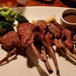 Rack of lamb, cut