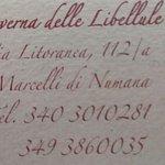 TAVERNA delle LIBELLULE의 사진