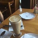 Blueberry latte (normal milk)