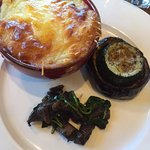 Lamb Pie with Baked Eggplant