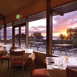 Dining with a view at Freycinet Lodge