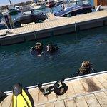 Deep Blue Diving Base Foto