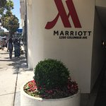 Entrance to Mariott, 1250. Columbus Ave, San Franciso