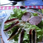 Salade rouergate
