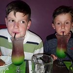 Mocktails for the birthday boys.