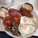 Full English with wholemeal toast