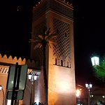 the Mosque right outside the Riad