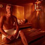 Sauna im Wohlfühlbereich