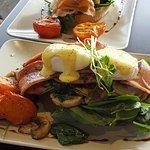 Fantastic breakfast...eggs bene