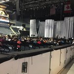These are views from our seats (section 117, row A, 4&5) at the Dolly Parton Concert.  I believe