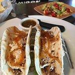 Cool bar / brisket tacos!