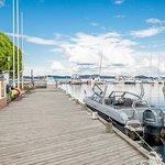 Marina Pier and Taxi Boat: Gateway to Päijänne National Park
