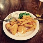 """Vegetarian """"fish"""" and chips"""