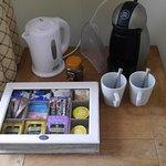Coffee & tea making facilities at The Ship Inn