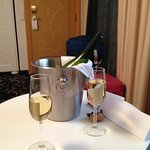 Fizz in room on arrival
