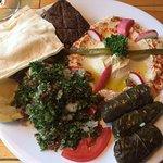 The Lebanese Combo plate