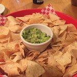 Chips and Guac to die for