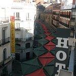 Veduta su Calle del Carmen