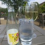 Fine for drinks in the sunshine