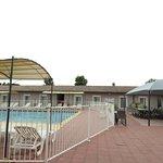 les chambres côté piscine