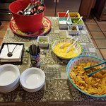 Twelve O'Clock Nacho bar!