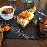 Yummy trio of desserts