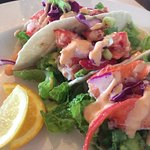 Excellent Lobster Taco